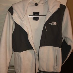 White and Gray Light winter jacket